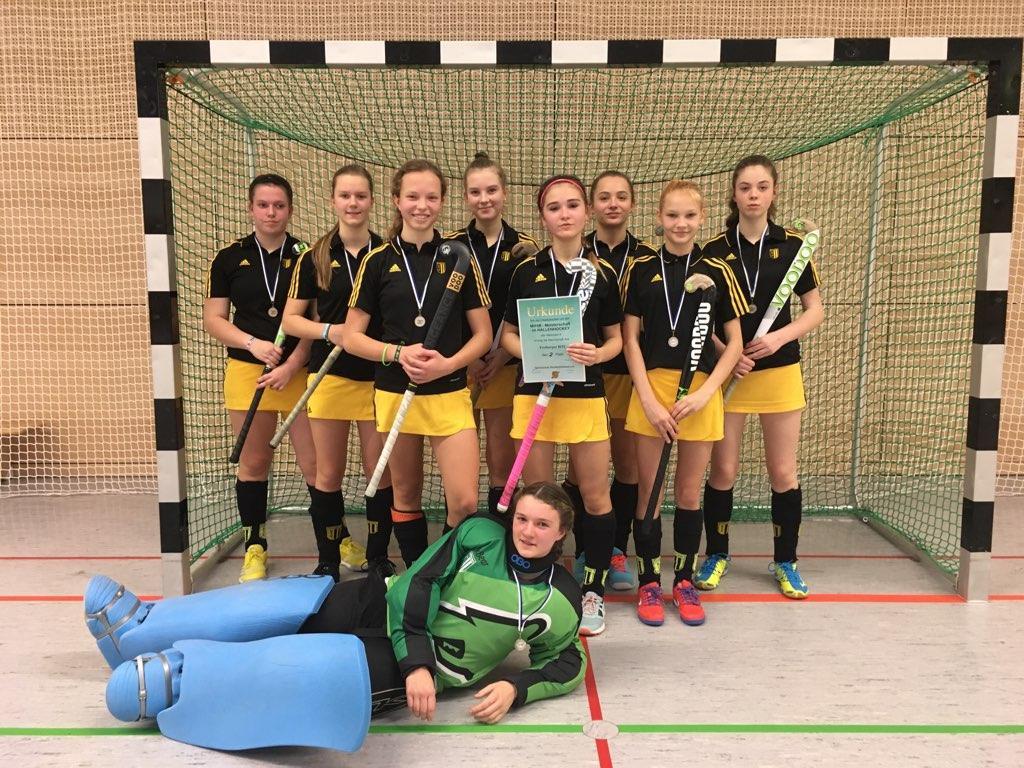 Hockey: Mädchen A schürfen Silber und fahren nach Berlin