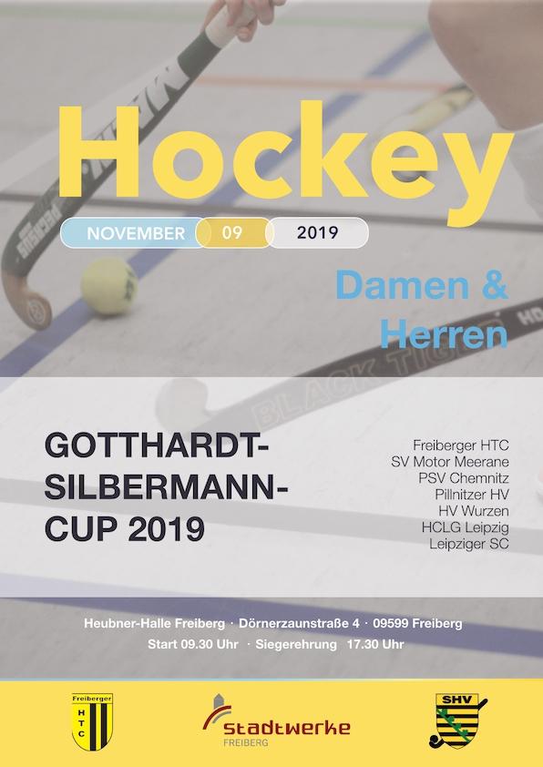 Hockey: Freiberger HTC Gastgeber beim 3. Gotthardt-Silbermann-Cup