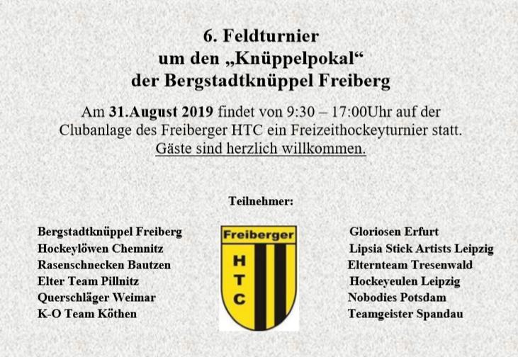 Pokalkampf mit Heimvorteil - Die Bergstadtknüppel sind wieder los!