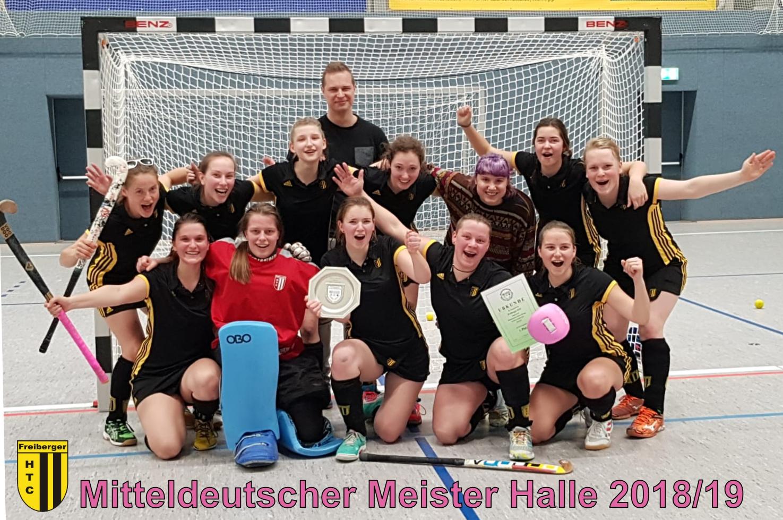 Hockey: Damen sind Mitteldeutscher Meister!