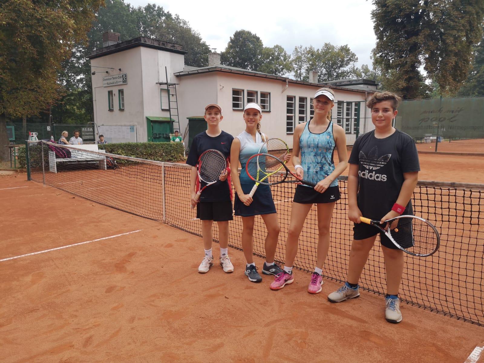 Tennis: U14 gemischt beendet Saison auf Rang 5