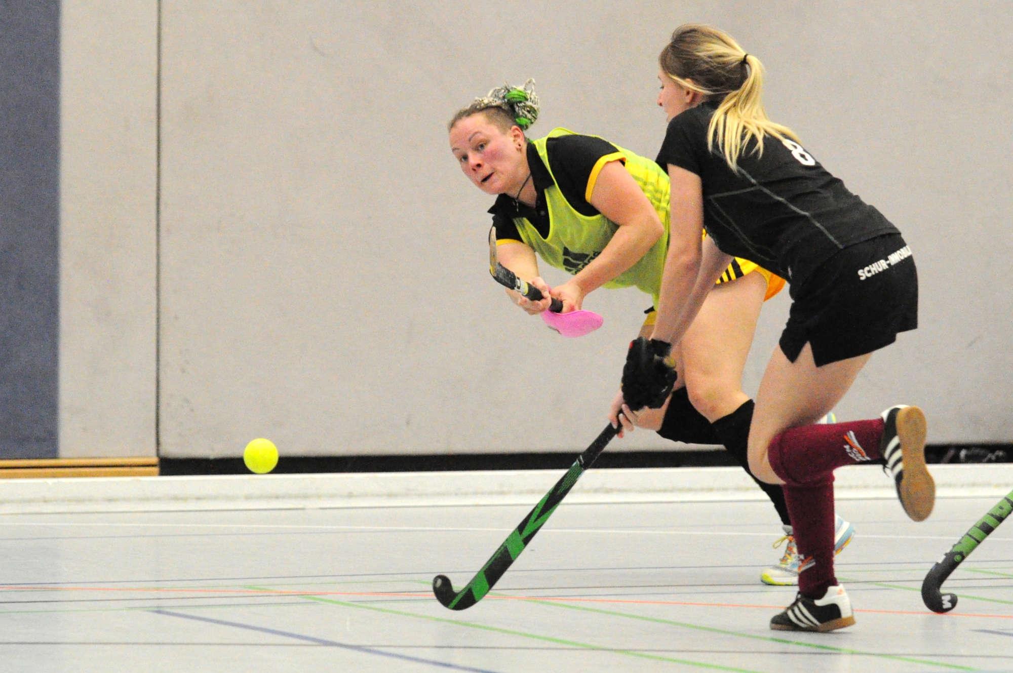 Hockey Oberliga Damen: Holpriger Jahresstart mit Happy-End