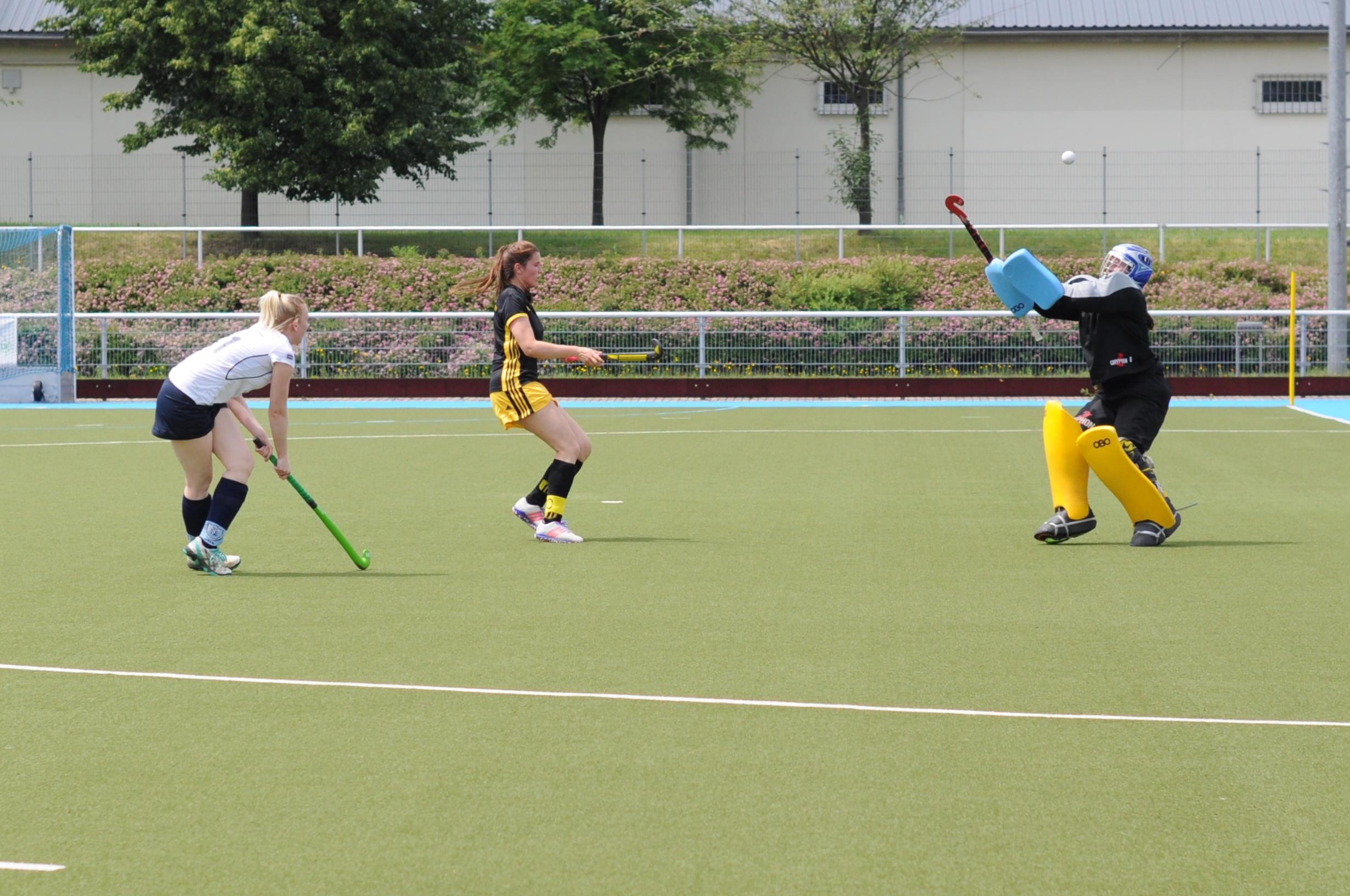 Hockey: FHTC-Damen klettern auf Rang zwei