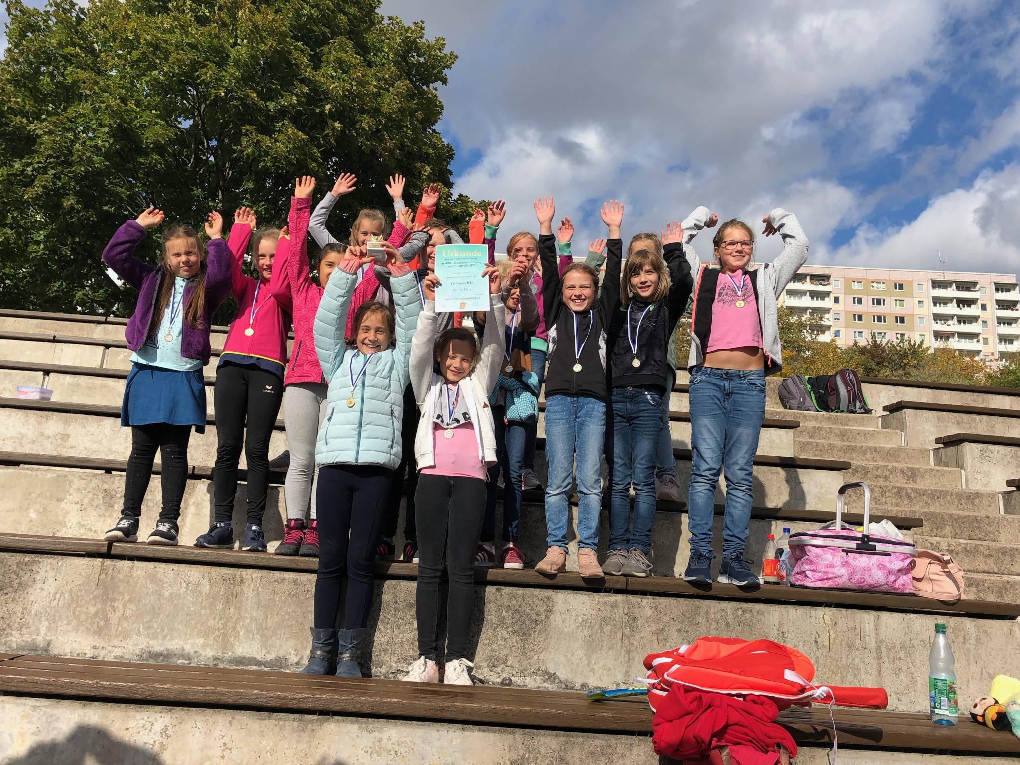 Hockey: Mädchen C feiern Mitteldeutsche Meisterschaft