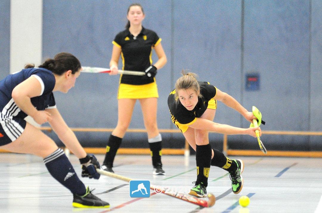 Hockey-Oberliga: FHTC-Damen mit Torfeuerwerk auf Platz 1