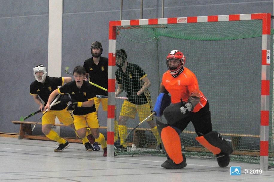 Hockey: Herren mit Torraigen an die Tabellenspitze