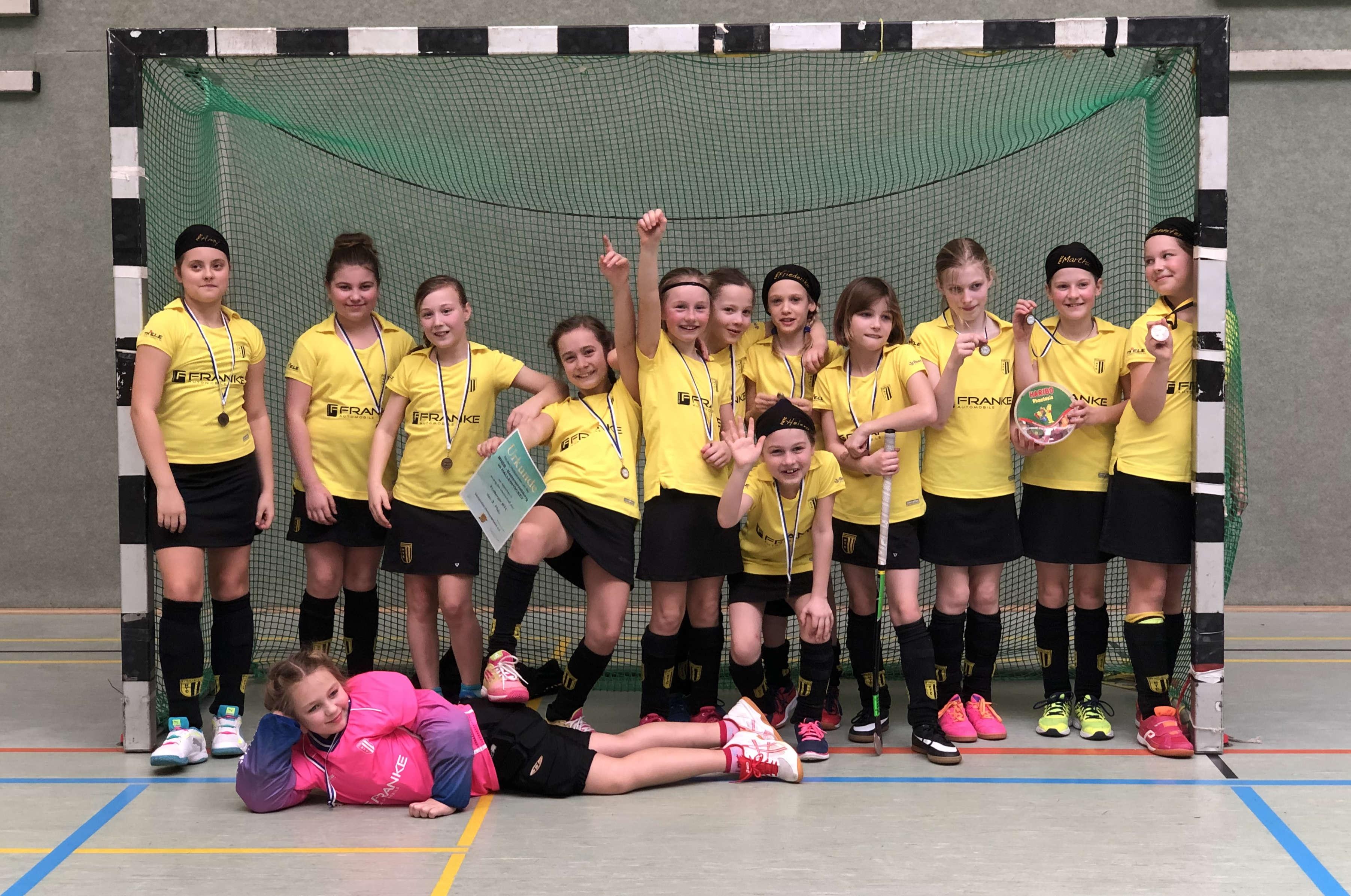 Hockey: Mädchen C holen Bronze