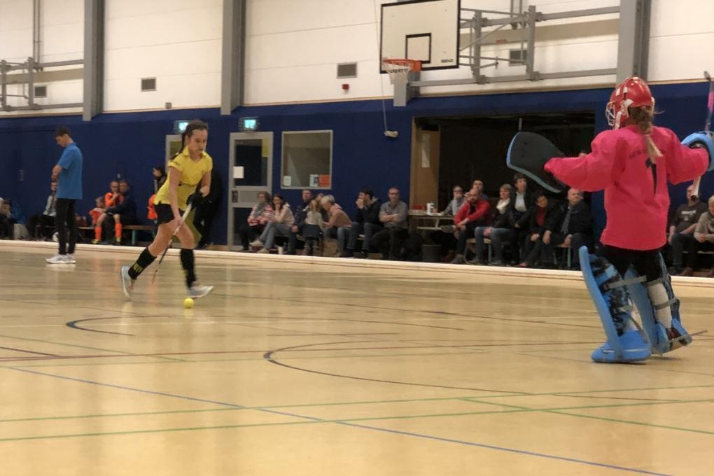 Hockey C-Mädchen: 150 Zuschauer sehen Finaleinzug