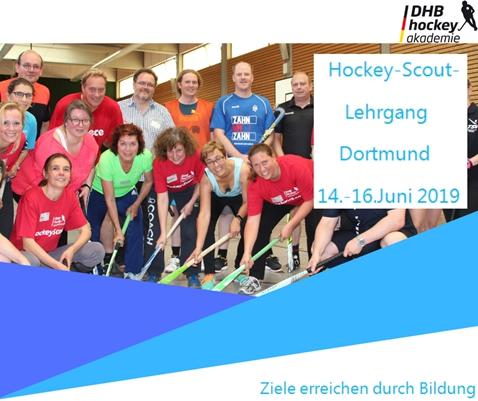 Hockeyscout-Lehrgang 14.-16. Juni in Dortmund