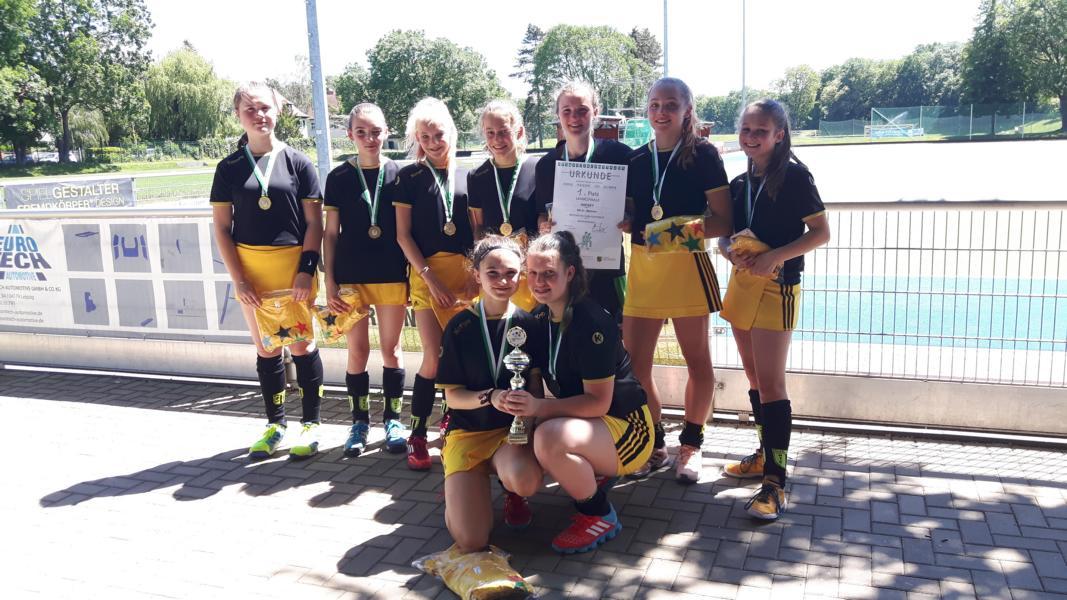 Schulhockey: Bernhard-von-Cotta Gymnasium Landesmeister