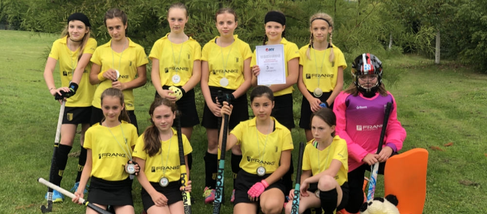 Hockey FHTC – Mädchen Bronze beim OHV Pokal