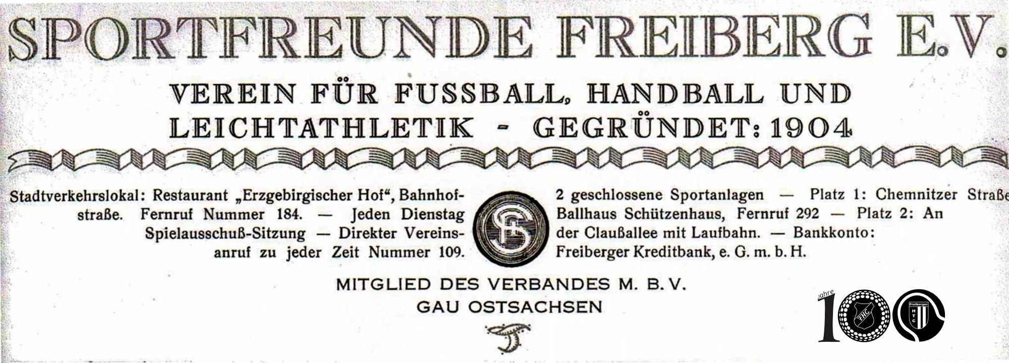 F.H.C. 1920 – Erkenntnisgewinn durch Schularbeit