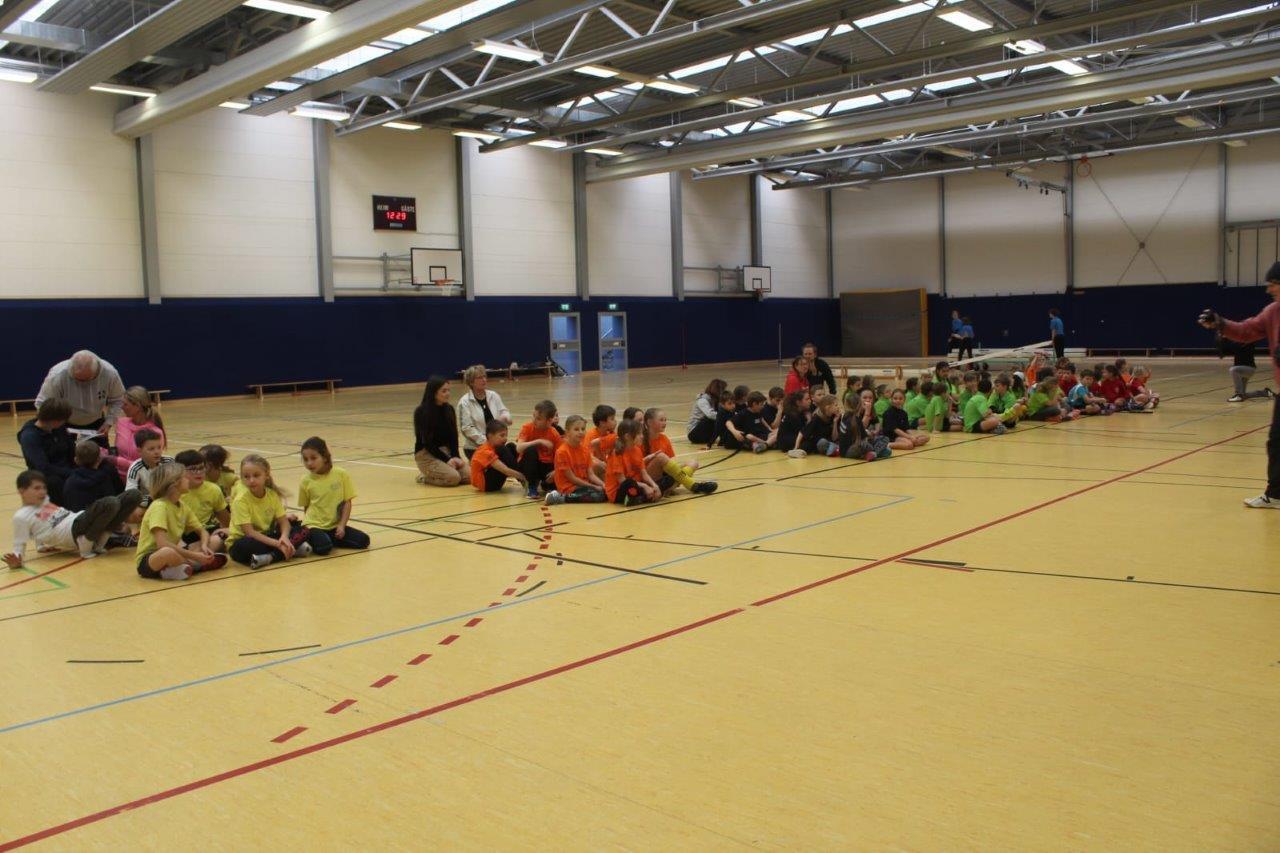 Jugend trainiert für Olympia: Freiberger Rülein-Halle Schauplatz für Hockey und Frisbee